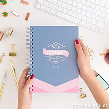 Mr Wonderful - Libreta mr. wonderful: mis ideas lo petan
