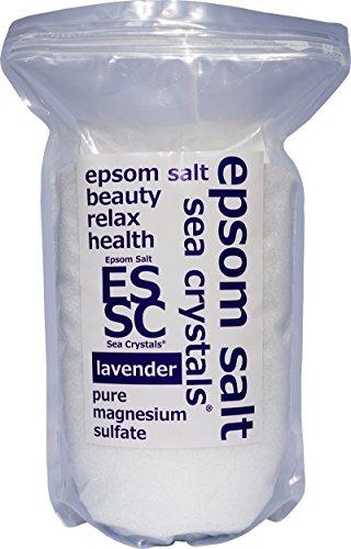 【Amazon.co.jp 한정】 《에푸소무소루토》 lavender 의 향기 2.2kg (목욕용 화장품) Seacrystals 계량 스푼부/ 4.4kg (2.2kgX2) / 8kg (4kgX2)