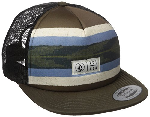 Volcom Juniors the Classic Trucker Hat, Lentil Green, One Size
