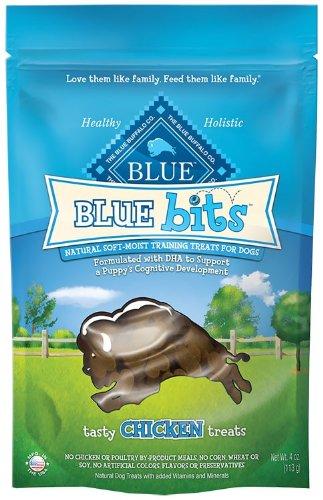 Blue Buffalo Chicken Bits Dog Treats, 4-Ounce, My Pet Supplies