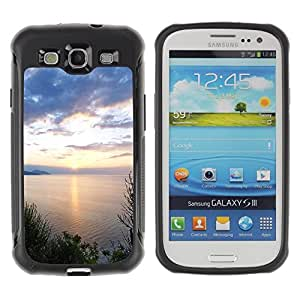 "Hypernova Defender Series TPU protection Cas Case Coque pour Samsung Galaxy S3 III I9300 [Naturaleza Hermosa Forrest Verde 124""]"