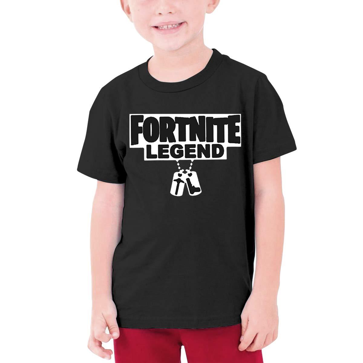 9fa9bdcd3 Amazon.com: fresh tees Fortnite Legend Gaming Youth T- Shirt (X- Large  14-16 Yrs, Black): Clothing