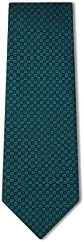 Origin Ties Men's Diamond Polka Dots Pattern Silk Tie Business Necktie