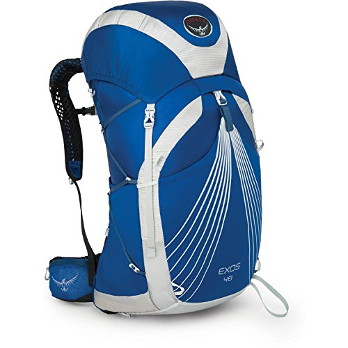 Osprey Packs Exos 48 Backpack, Pacific Blue, Medium