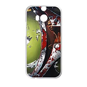 meilinF000Bloody horn special man Cell Phone Case for HTC One M8meilinF000