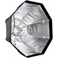 EACHSHOT 120cm/47in Octagon Umbrella Softbox with Bowens Mount Speedring for Speedlite Photo Strobe Studio
