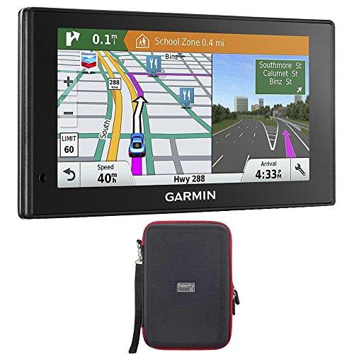 Garmin 010-01540-01 DriveSmart 60LMT GPS Navigator with GPS Bundle by Garmin