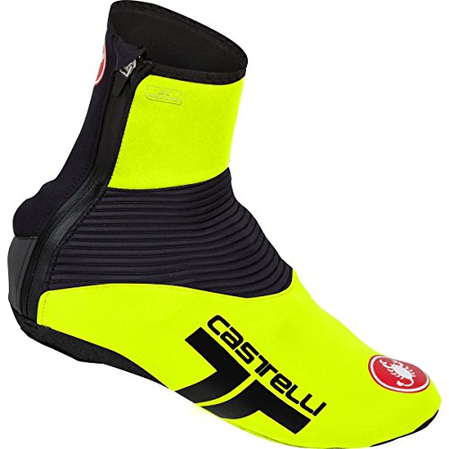 Castelli Narcisista 2 Shoecover (Yellow Fluo, Large)