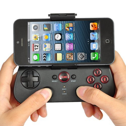 GadgetZone Ipega Bluetooth Controller Android Wireless Game Controller Gamepad Joystick Wireless Transmission Built-in Lithium Battery for Apple iPhone iPad iPod Samsung Mobile Phones etc.