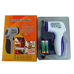 RockFire Non-contact Infrared Thermometer Temperature Gun with Laser Sight MAX Display