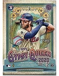 2020 Topps Gypsy Queen MLB Baseball BLASTER box (7 pks/bx + 1 exclusive parallel pk)
