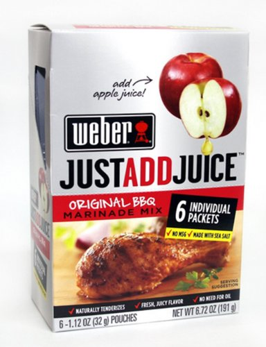 Weber Juice Original Marinade Boxes