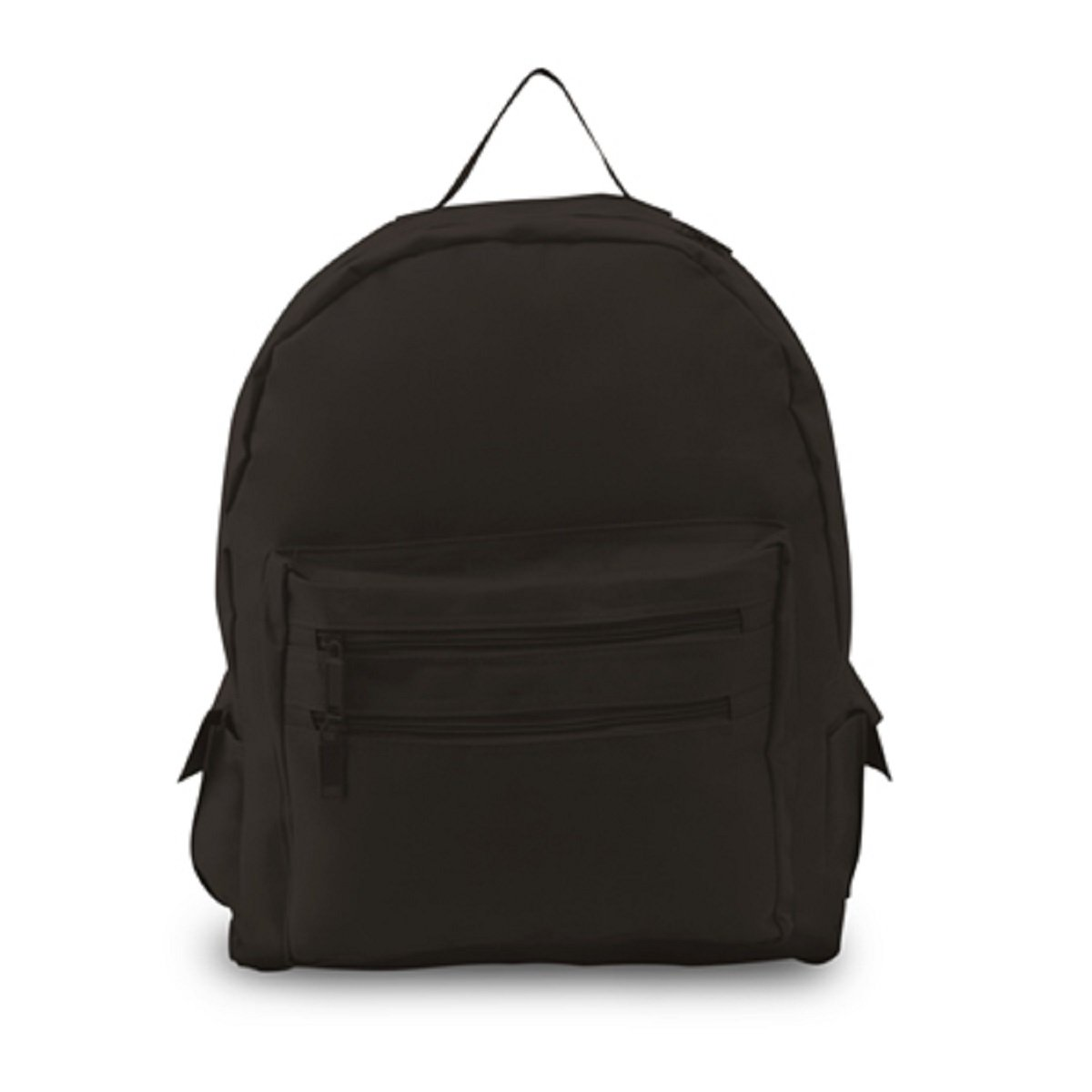 BACKPACK ON A BUDGET, Black, Case of 12 by DollarItemDirect