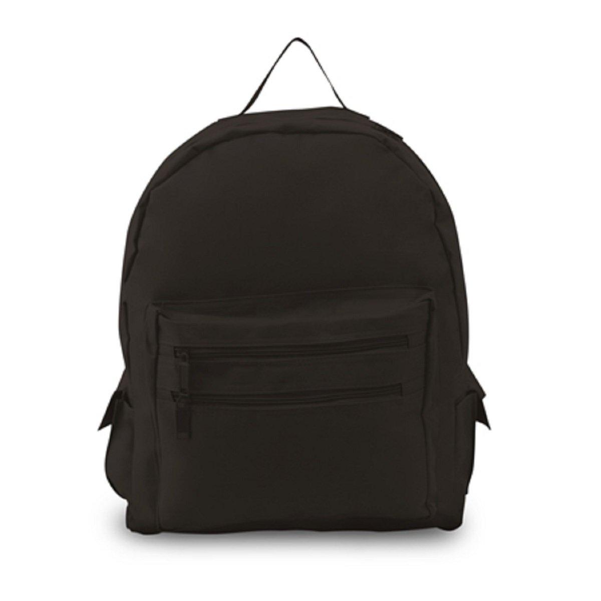 BACKPACK ON A BUDGET, Black, Case of 12