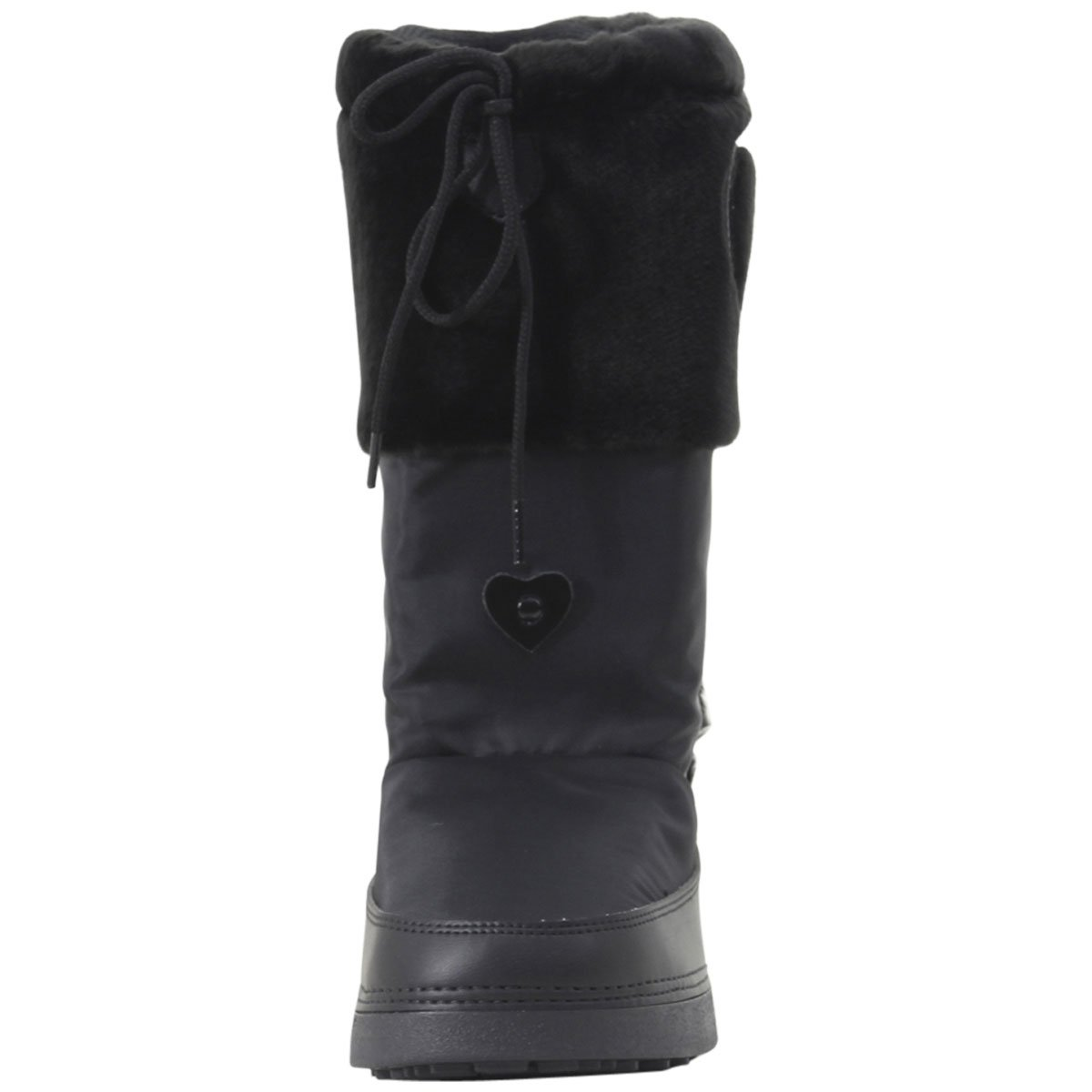 Love Moschino Women's Moon Boots Black 41 M EU by Love Moschino (Image #1)