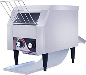 WantJoin Commercial Conveyor Toaster with 150PCS per Hour Electric Heavy Duty Stainless Steel for Restaurant Breakfast