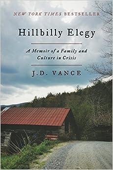 Image result for JD Vance Hillbilly Elegy.