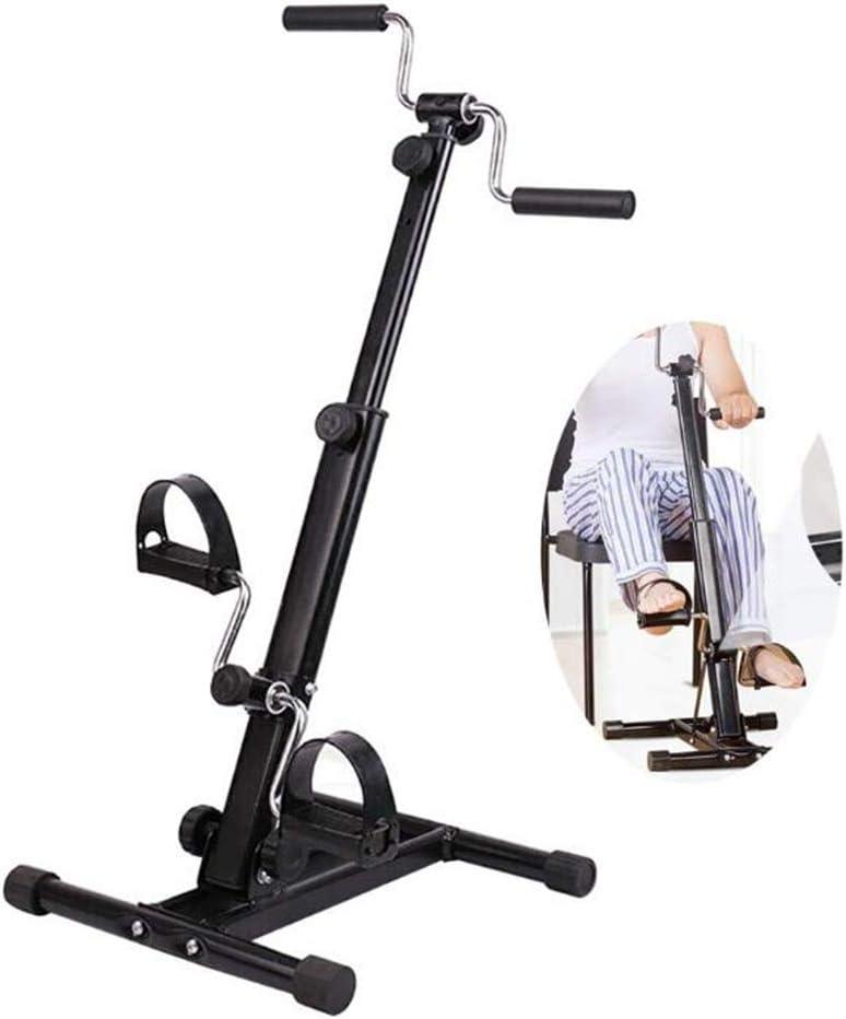 TIEHH Pedal Cubierta ejercitador, Ajustable Resistencia de Brazos y piernas Cubierta Fitness máquina de Entrenamiento, Alta y Baja de Extremidades Fisioterapia máquina de la Bici de Ejercicio