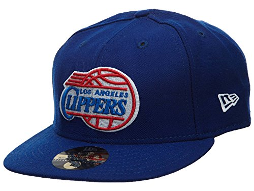- New Era Los Angeles Clippers Fitted Hat Mens Style: HAT209-DARK Blue Size: 7