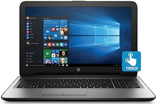 HP 15.6 Inch Touchscreen Laptop Computer (Intel Core i3-6100U 2.3GHZ, 8GB RAM, 1TB Hard Drive, DVD, HDMI, USB 3.0, HD Webcam, Windows 10 Home) (Certified Refurbished)