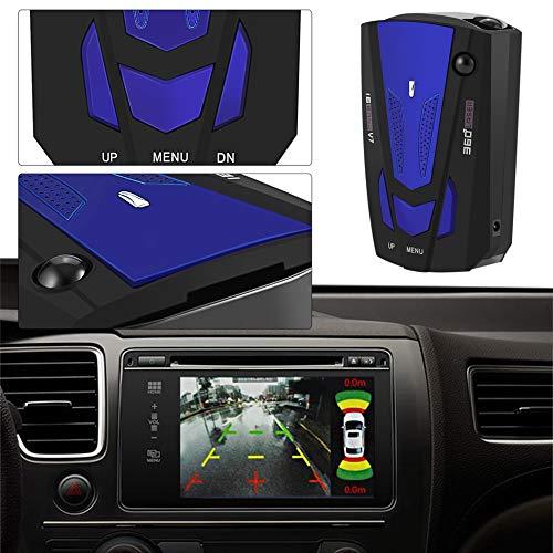 Newgrees Coche 16 de la Banda de Voz Alerta V7 Pantalla LED Detector de Radar GPS Seguridad Velocidad: Amazon.es: Electrónica