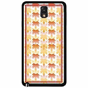 Autumn Fall Leaves Design TPU RUBBER SILICONE Phone Case Back Cover Samsung Galaxy Note III 3 N9002
