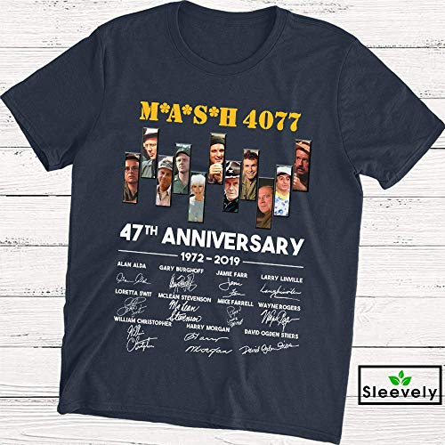 Mash 4077 47th Anniversary T-Shirt M.A.S.H 4077