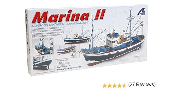 Wooden Scale 1:30 UNPAINTED Model Kit Boats Fishing Ship Model Water Scene