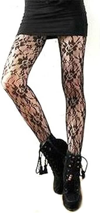 Broadfashion Women's Sexy Patterned Stockings Tatoo Tights Pantyhose