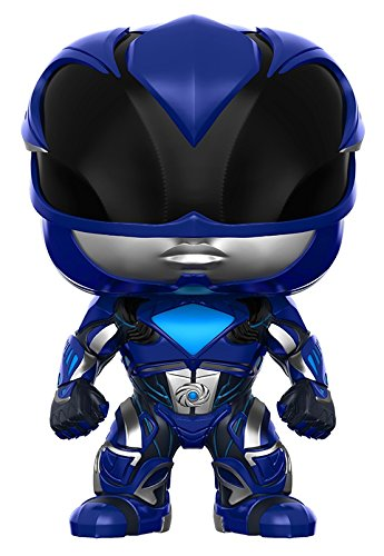 Funko POP Movies: Power Rangers Blue Ranger Toy Figure