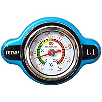 PT Auto Warehouse T148 - Safe Thermo Radiator Cap - 16 PSI