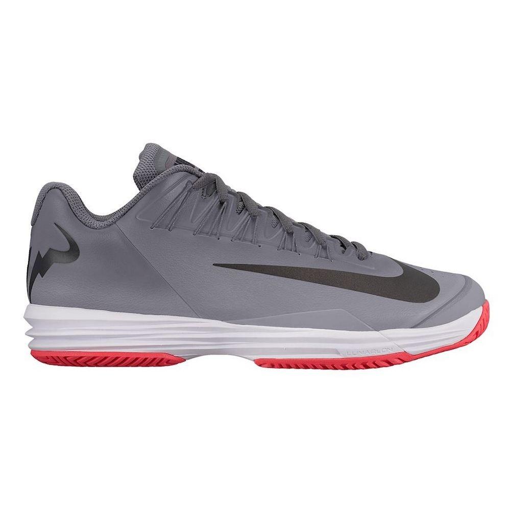 best website 34204 a31ef Mens Lunar Ballistec 1.5 LG All Court Shoe Men - Dark Grey, Red - 14   Amazon.co.uk  Shoes   Bags