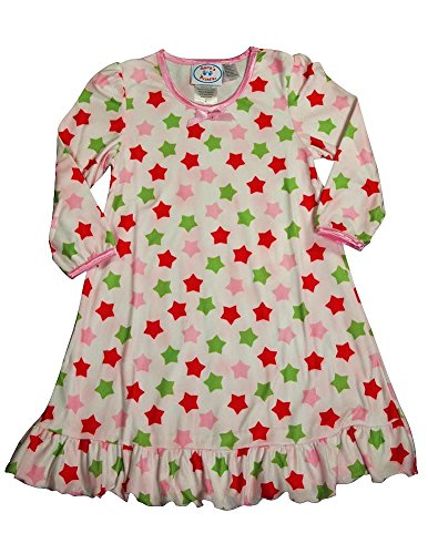 She will love this Christmas Nightie by Emerson. In a short sleeve, round neck cut, this style features a fun festive print on the front and a super comfy loose fit that is perfect for the warmer months.