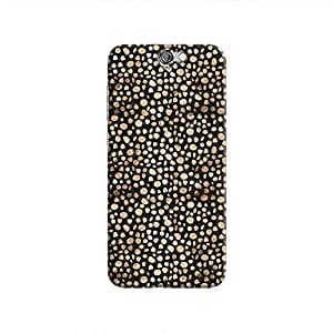 Cover It Up - Brown Black Pebbles Mosaic One A9 Hard Case