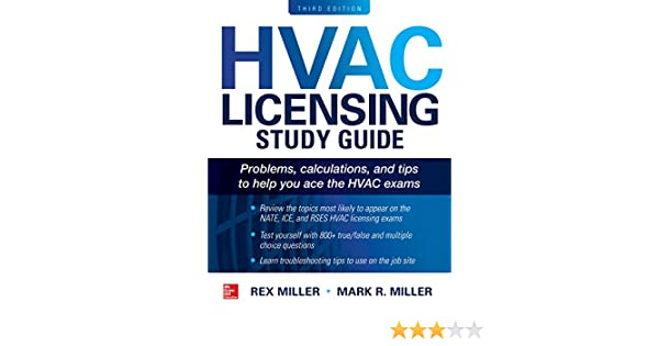 Hvac licensing study guide third edition rex miller mark r hvac licensing study guide third edition rex miller mark r miller ebook amazon fandeluxe Images