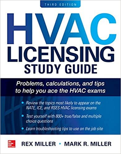 Hvac licensing study guide third edition rex miller mark r hvac licensing study guide third edition 3rd edition kindle edition fandeluxe Images