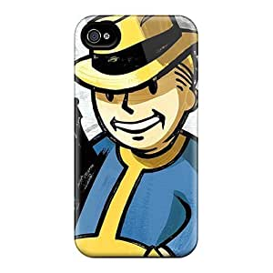 For L.M.CASE Iphone Protective Case, High Quality For Iphone 4/4s Vault Boy Skin Case Cover