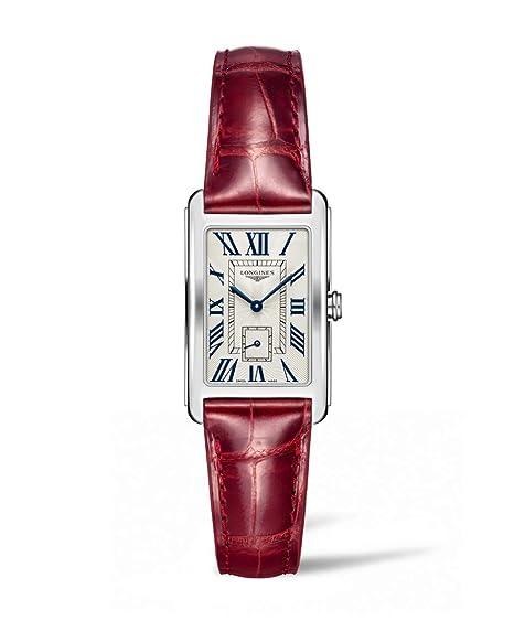Longines DolceVita - l5.512.4.71.5 - Plata Números Romanos Dial cuarzo de la mujer: Amazon.es: Relojes