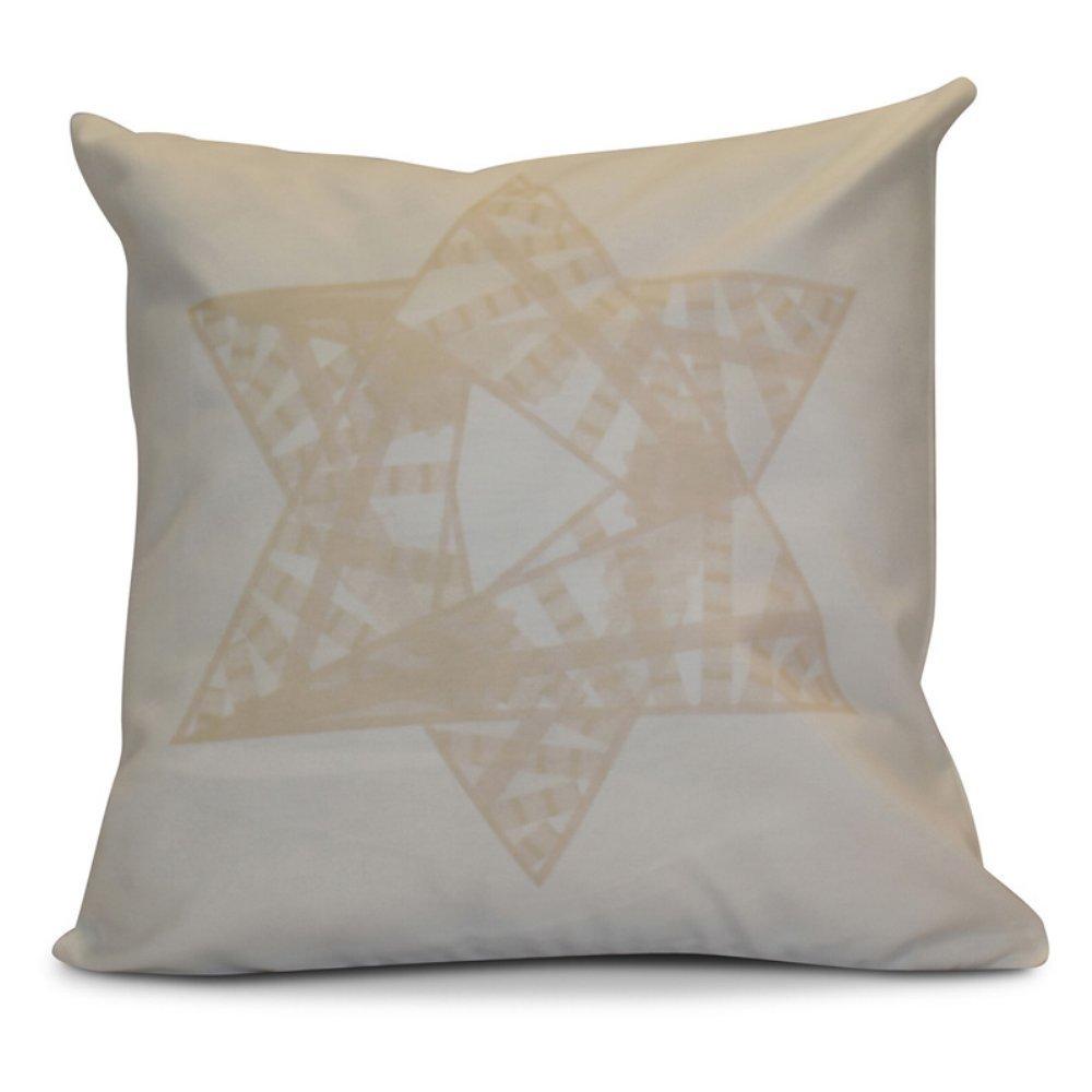 E by design O5PGHN564YE10-16 Printed Outdoor Pillow