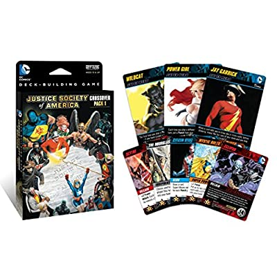 Cryptozoic Entertainment DC Deck-Building Game Crossover Pack 1: Justice Society of America: Cards: Toys & Games
