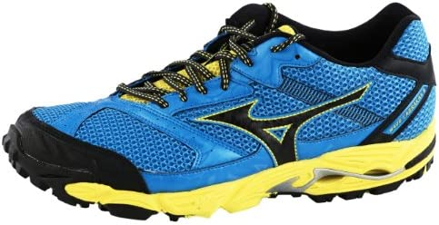 MIZUNO Wave Cabrakan 5 Zapatilla de Trail Running Caballero, Azul/Amarillo, 39: Amazon.es: Zapatos y complementos