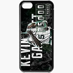 Personalized iPhone 5C Cell phone Case/Cover Skin 14824 kevin garnett2 sm Black