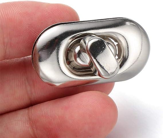 Bronze Dabixx Vogel Form Verschluss Drehen Lock Twist Locks Metall-Hardware f/ür DIY Handtasche Tasche Geldb/örse