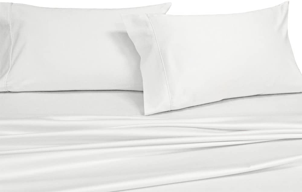 OFF WHITE HOTEL QUALITY EGYPTIAN COTTON PERCALE 300 T//C SUPER KING SIZE BED SET