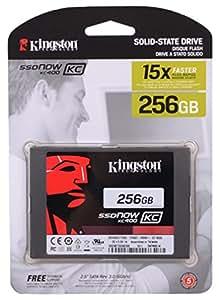 "Kingston SSDnow KC400Series SKC400S37/256G 256GB 2.5"" SATA 3 SSD Retail For PC & Mac"