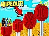 Clip: Impossible 1v1v1v1 Lava Run Wipeout Challenge