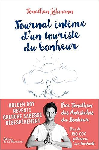 Journal intime d'un touriste du bonheur - Jonathan Lehmann (2018) sur Bookys