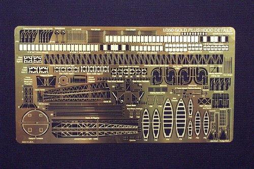 Gold Medal Models - GOLD PLUS HOOD EXTRA DETAILS 1:350 scale
