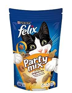Felix Party Mix Classic Mix Cat Treats, 60g
