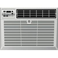 """GE AEM06LX 19"""" Window Air Conditioner with 6050 Cooling BTU, Energy Star Qualified in Light Cool Gray"""